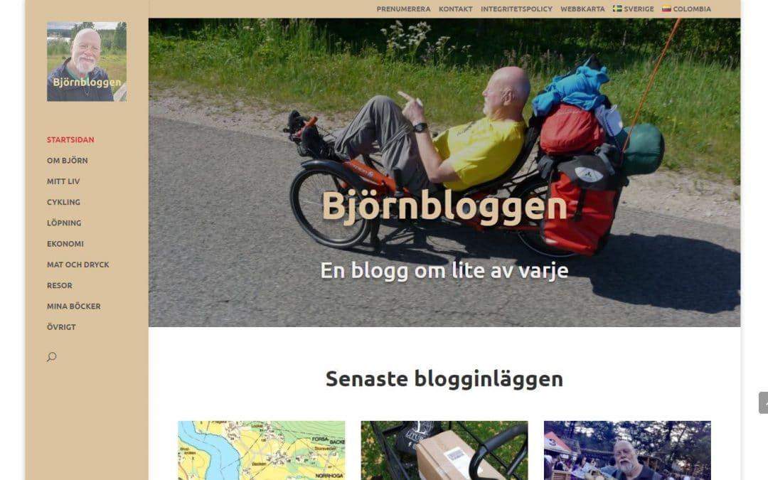 Vi välkomnar Björnbloggen som kund hos oss!