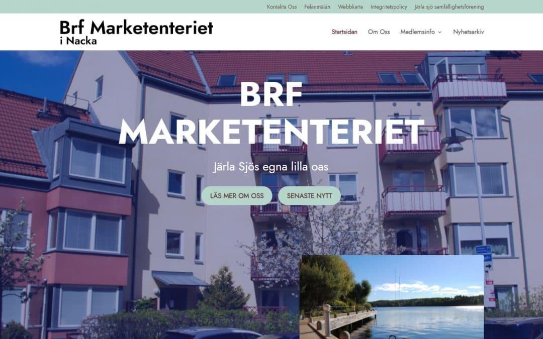 Ny kund – BRF Marketenteriet